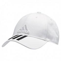 Adidas 6P 3S Cap Cotto Baseball Sapka (Fehér-Fekete) BK0806