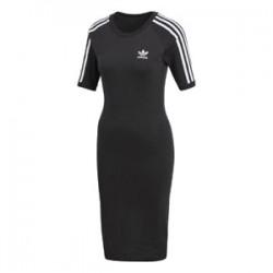 Adidas Originals 3 Stripes Dress Női Ruha (Fekete-Fehér) CY4748