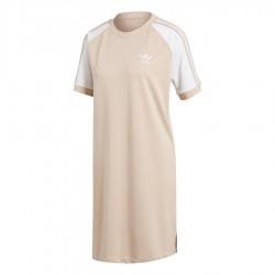 Adidas Originals Raglan Dress Női Ruha (Rózsaszín-Fehér) CY4760