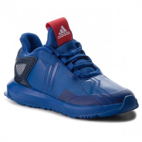 Adidas RapidaRun Spider-Man Fiú Gyerek Cipő (Kék-Piros) AH2453 cce56d02db
