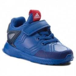Adidas RapidaRun Spider-Man EL I Kisfiú Gyerek Cipő (Kék-Piros) AH2461