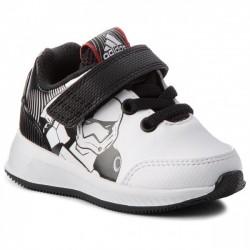 Adidas RapidaRun Star Wars I Kisfiú Gyerek Cipő (Fekete-Fehér) AH2462