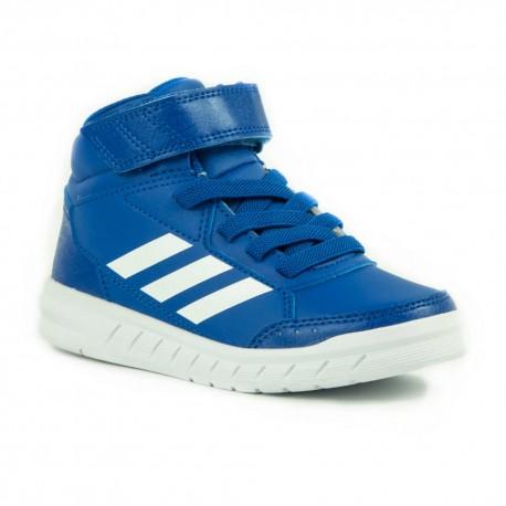 6a79045a50 Adidas AltaSport Mid EL K Fiú Gyerek Cipő (Kék-Fehér) AQ0186