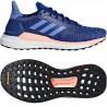 Adidas Solar Glide W Női Futó Cipő (Kék-Fehér-Rózsaszín) AQ0334