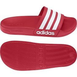 Adidas Adilette Cloudfoam Slides Férfi Papucs (Piros-Fehér) AQ1705