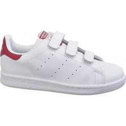 Adidas Originals Stan Smith CF C Lány Gyerek Cipő (Fehér-Piros) B32706