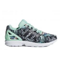 Adidas Originals ZX Flux J Női Cipő (Zöld-Színes) B42171