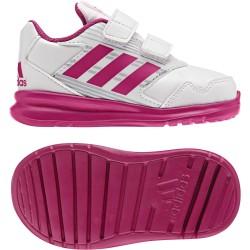 Adidas AltaRun CF I Kislány Gyerek Cipő (Fehér-Rózsaszín) BA9414