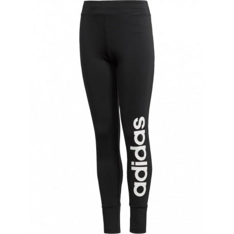 Adidas YG Gear Up Linear Tights Lány Gyerek Leggings (Fekete-Fehér) BQ2878 4cc240028f