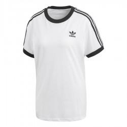 Adidas Originals 3 Stripes Tee Női Póló (Fehér-Fekete) CY4754 faf3194272