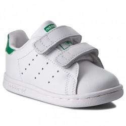 Adidas Originals Stan Smith CF I Kisfiú Gyerek Cipő (Fehér-Zöld) BZ0520