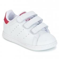 Adidas Originals Stan Smith CF I Kislány Gyerek Cipő (Fehér-Rózsaszín) BZ0523