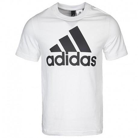 7ebf94cdd9 Adidas Essentials Linear Tee Férfi Póló (Fehér-Fekete) CD4863