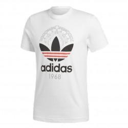 Adidas Originals Trefoil Tee Férfi Póló (Fehér-Fekete-Piros) CD6827
