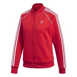 Adidas Originals SST Track Jacket Női Felső (Piros-Fehér) CE2393