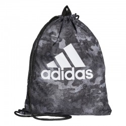 Adidas Sports Gym Sack Tornazsák (Szürke-Fehér) CF5025
