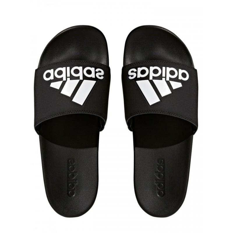 Adidas Adilette Cloudfoam Plus Logo Slides Férfi Papucs (Fekete-Fehér)  CG3425 41c11d99a8