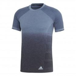 Adidas Primeknit Wool Dip-Dye Tee Férfi Póló (Kék) CF5614