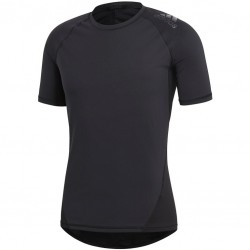 Adidas Alphaskin Sport Tee Férfi Póló (Fekete) CF7235