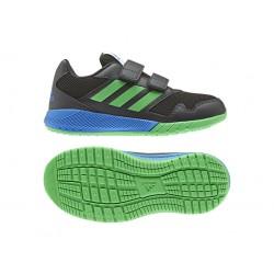 Adidas AltaRun CF K Fiú Gyerek Cipő (Kék-Zöld-Fekete) AH2408