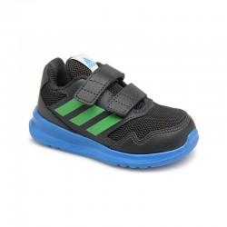 Adidas AltaRun CF I Kisfiú Gyerek Cipő (Fekete-Kék-Zöld) AH2411