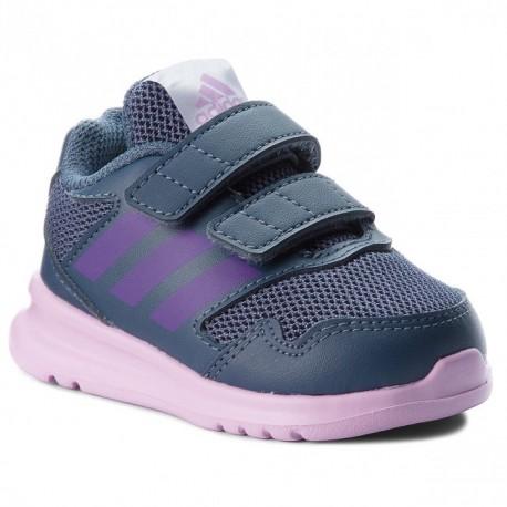 c5ec506384 Adidas AltaRun CF I Kislány Gyerek Cipő (Kék-Lila) AH2412