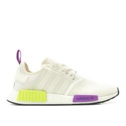 Adidas Originals NMD R1 Férfi Cipő (Fehér-Lila-Sárga) D96626