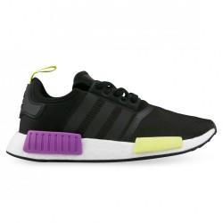 Adidas Originals NMD R1 Férfi Cipő (Fekete-Lila-Sárga) D96627