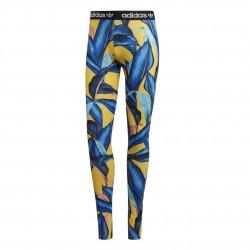 Adidas Originals Tights Női Nadrág (Kék-Sárga) DH3056