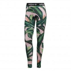 Adidas Originals Tight Női Nadrág (Rózsaszín-Zöld) DH3064