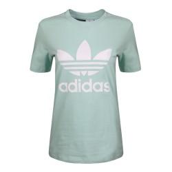 Adidas Originals Trefoil Tee Női Póló (Zöld-Fehér) DH3176