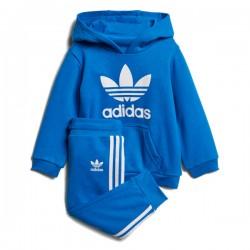 Adidas Originals Infants Trefoil Hoodie Bébi Melegítő Együttes (Kék-Fehér) D96067