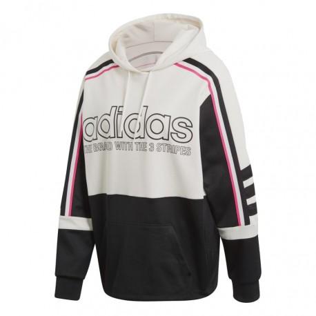 92b123736c Adidas Originals Sweatshirt Hoodie Női Pulóver (Fehér-Fekete-Piros) DH4205