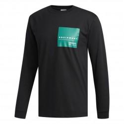 Adidas Originals EQT Graphic Tee Férfi Felső (Fekete-Zöld) DH5227