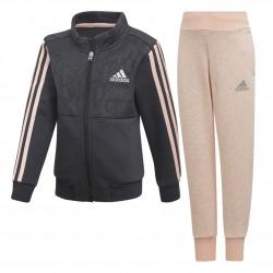 Adidas LG CO Tracksuit Lány Gyerek Melegítő Együttes (Fekete-Barack) DJ1458