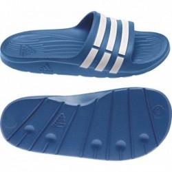 Adidas Duramo Slide Fiú Papucs (Kék-Fehér) D67479