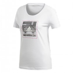 Adidas MOOD Tee Női Póló (Fehér-Fekete) DJ1602