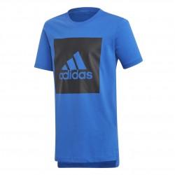 Adidas YB Logo Tee Fiú Gyerek Póló (Kék-Fekete) DJ1749
