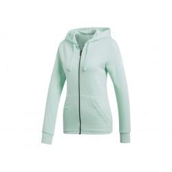 Adidas Essentials Solid FZ Hoodie Női Felső (Zöld) DN8510