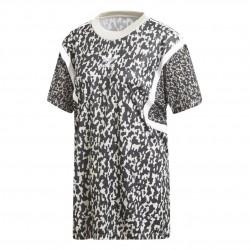 Adidas Originals Leoflage Oversize Trefoil Tee Női Hosszított Póló (Fekete-Fehér) DX4310