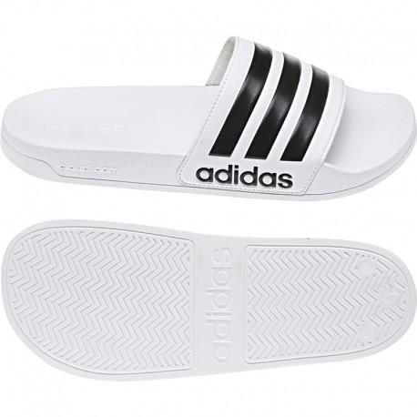 Adidas Adilette Cloudfoam Slides Női Papucs (Fehér-Fekete) AQ1702 c3d8dff65e
