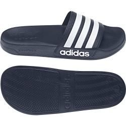 Adidas Adilette Cloudfoam Slides Unisex Papucs (Sötétkék-Fehér) AQ1703
