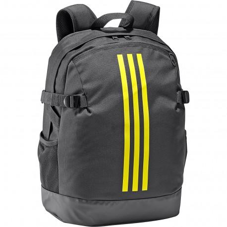 2be7e357d32f Adidas 3 Stripes Power Backpack Hátizsák (Fekete-Citromsárga) DM7681