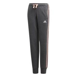 Adidas YG 3 Stripes Slim Pants Lány Gyerek Nadrág (Szürke-Barack) DJ1302