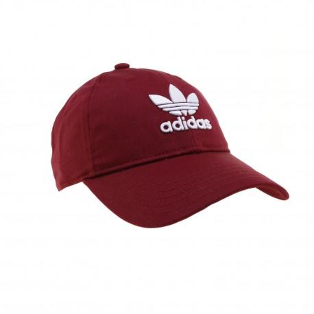 0f68c9b866 Adidas Originals Trefoil Baseball Sapka (Bordó-Fehér) CD8804