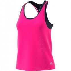 Adidas Advantage Tank Női Tenisz Trikó (Rózsaszín-Fekete) CY1895