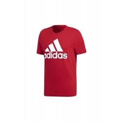 Adidas Essentials Linear Tee Férfi Póló (Bordó-Fehér) CZ7509