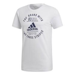 Adidas Emblem Férfi Póló (Fehér) DH6873