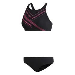 Adidas REG 2PC PP Női Bikini (Fekete-Rózsaszín) DL8725
