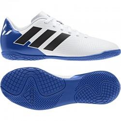 Adidas Nemeziz Messi Tango 18.4 IN J Fiú Gyerek Foci Cipő (Kék-Fehér) DB2398